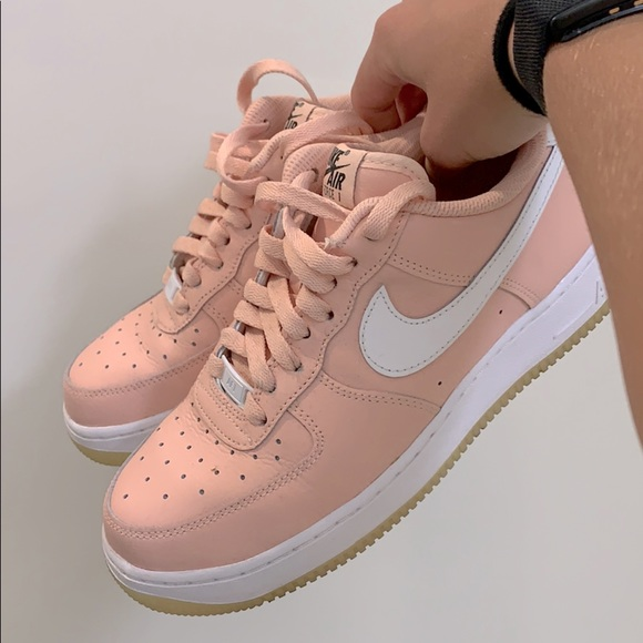 Nike Shoes   Airforce 1 Salmon Colored
